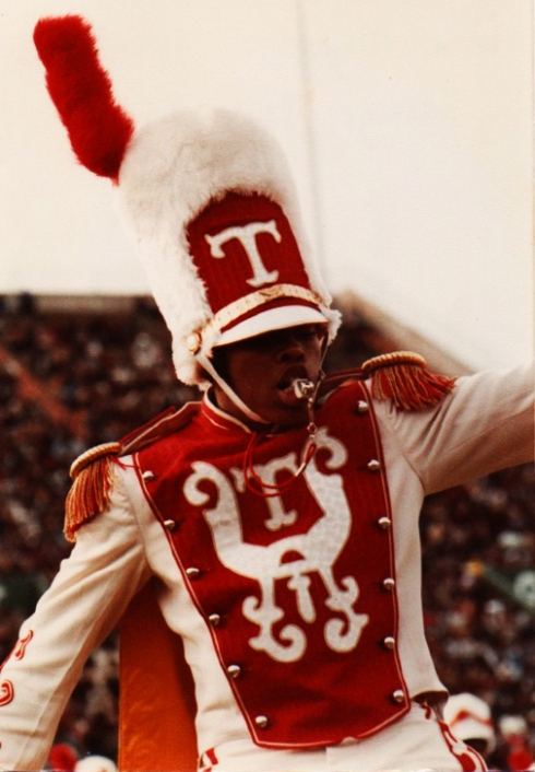Cedric Brown drum major from 1981-1985