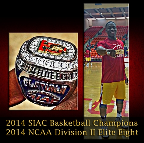 Tuskegee 2014 NCAA Elight Eight -South Region Champions Ring