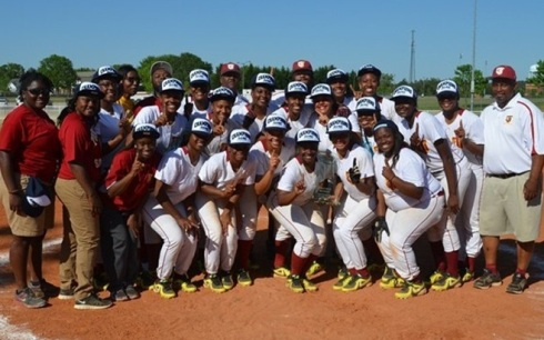 Tuskegee 2014 SIAC Softball Champions
