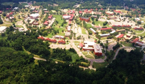 Tuskegee Aerial View