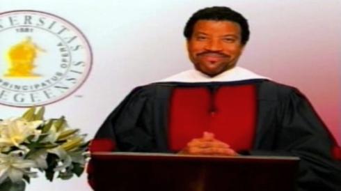 Tuskegee alumnus Lionel Richie