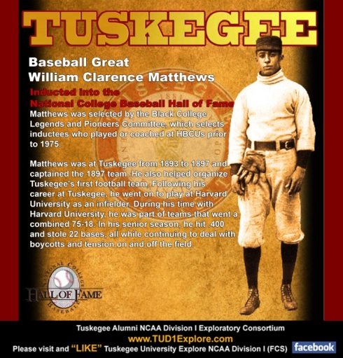 Tuskegee alumnus in National Baseball Hall of Fame