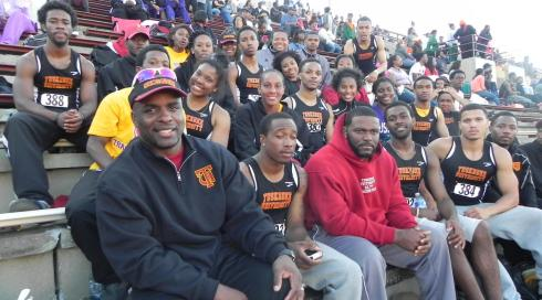 Tuskegee Track and Field Team 2013