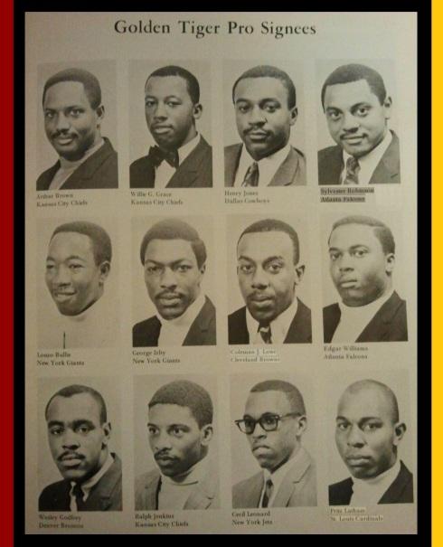 Tuskegee 1969 NFL Draft Class