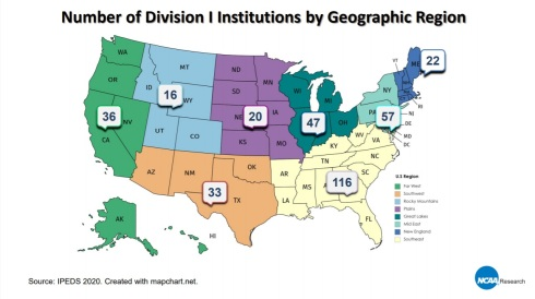 NCAA Division I Membership 03
