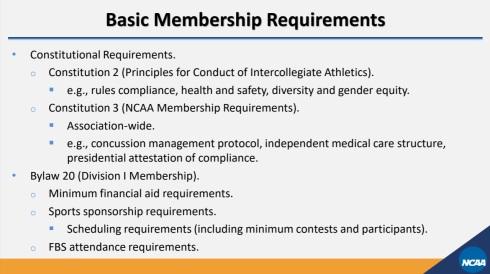 NCAA Division I Membership 08