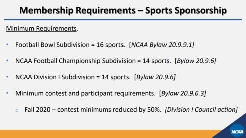 NCAA Division I Membership 10